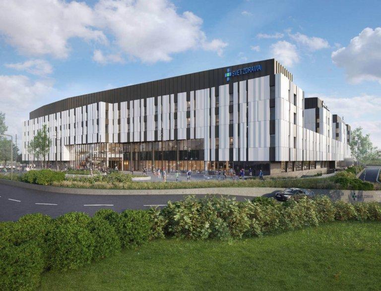Nemocnica Bory - exteriér - Svet Zdravia