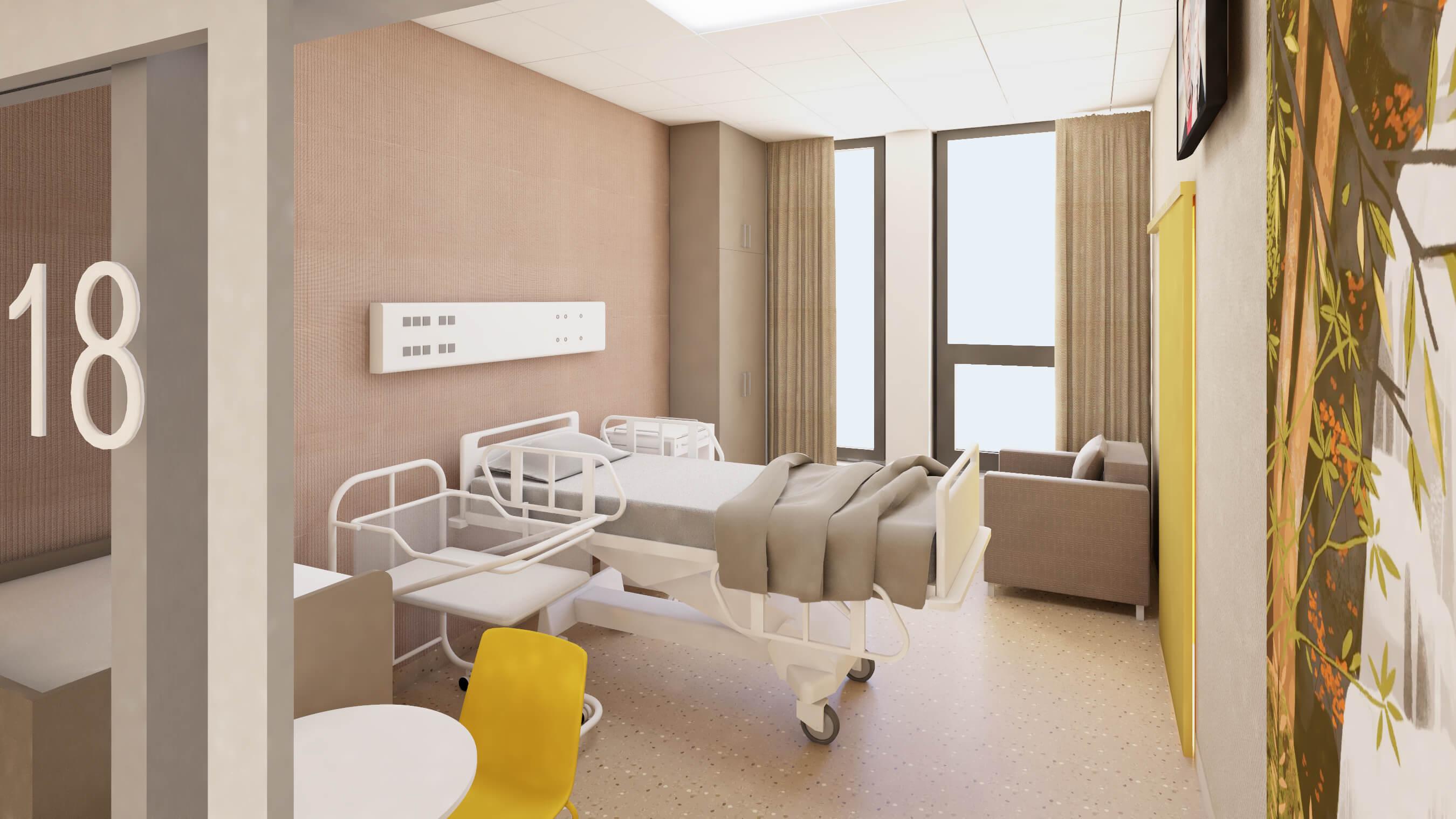 nemocnica bory pacientska izba