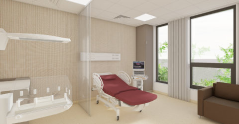 nemocnica bory porodna izba s vyhladom