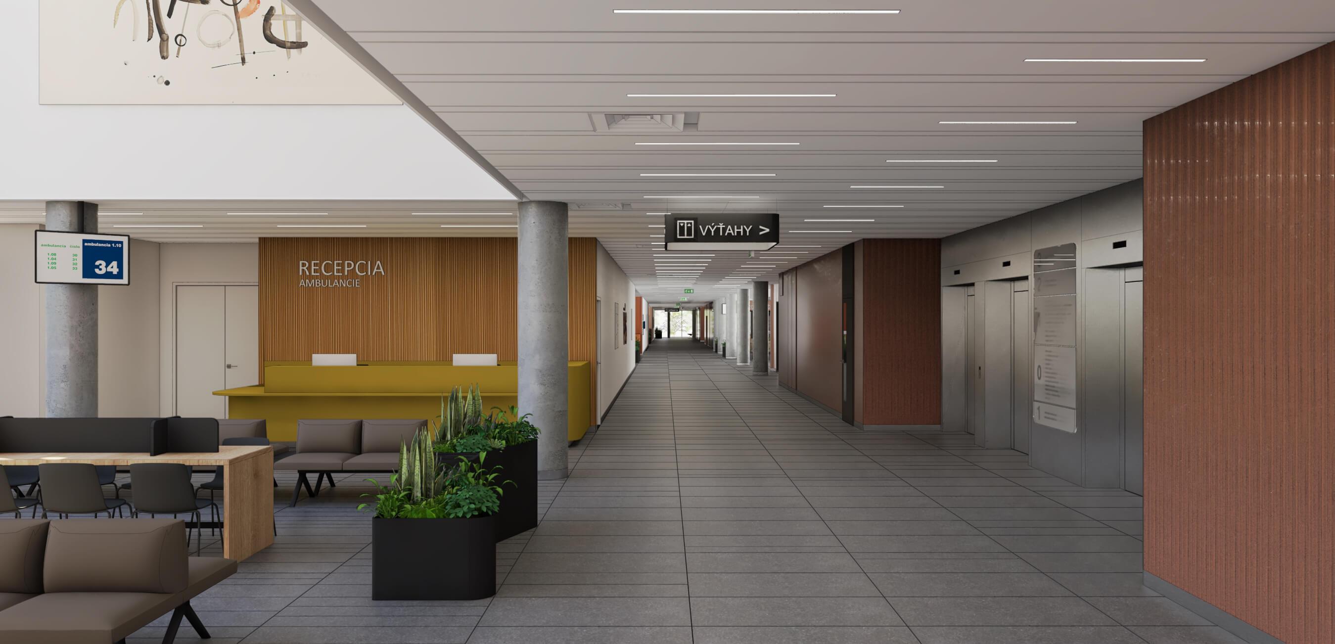 nemocnica bory recepcia oddelenie
