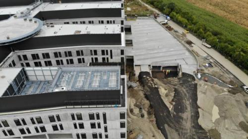 nemocnica-bory-sk prace-na-stavbe-oktober-2020-spevnovanie-ploch-01