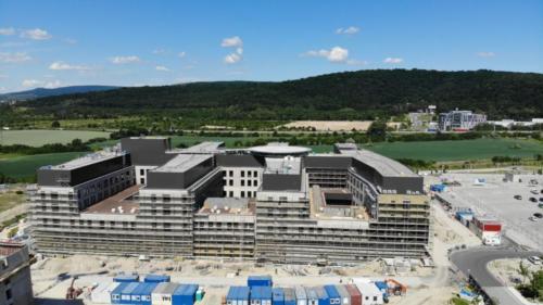 nemocnica novej generacie bory - stavba jun 2021 01
