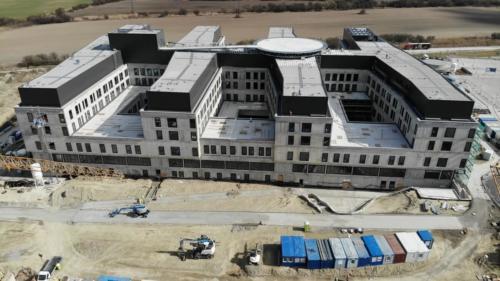 nemocnica novej generacie bory - stavba marec 2021 01
