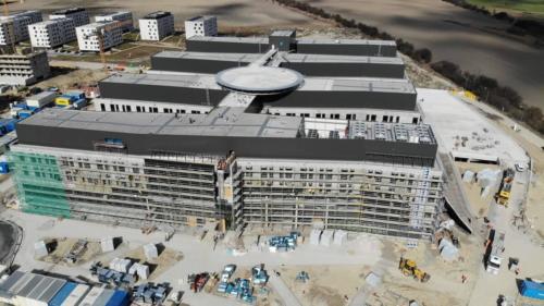 nemocnica novej generacie bory - stavba marec 2021 02