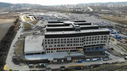 nemocnica novej generacie bory - stavba marec 2021 03